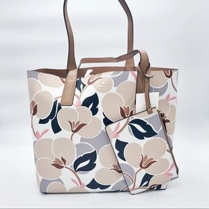 Kate Spade Arch Reversible Leather Tote NWT